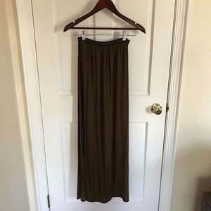Zara Skirts - Zara Maxi Skirt With Elastic Band